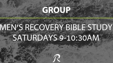 Men's Recovery Group – Saturday