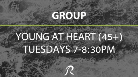 Young at Heart (45+older) Bible Study – GROUP
